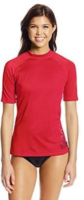 Kanu Surf Women's UPF 50+ Short Sleeve Active Rashguard and Workout Top I