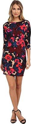 Donna Morgan Women's Dolman Scuba Dress $77 thestylecure.com