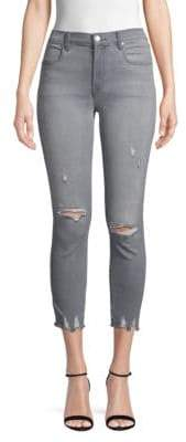 J Brand Alana High-Rise Cropped Skinny Jeans