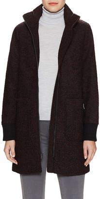 Rachel Roy Tweed Rib Coat
