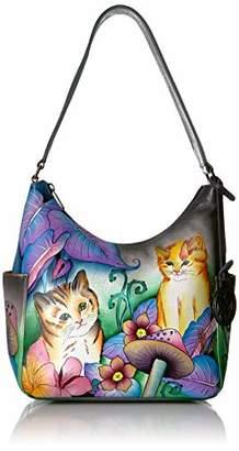 Anuschka Classic Shoulder Bag