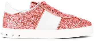 Valentino Flycrew glitter sneakers