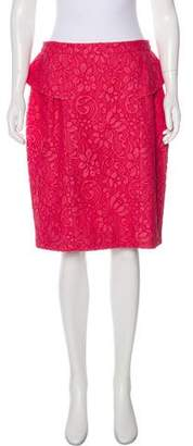 Jason Wu Lace Knee Length Skirt