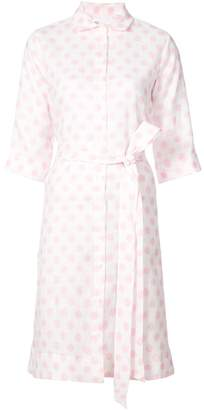 Lisa Marie Fernandez Polka Dot Shirt Dress