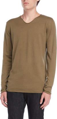 Dstrezzed V-Neck Knit Pullover