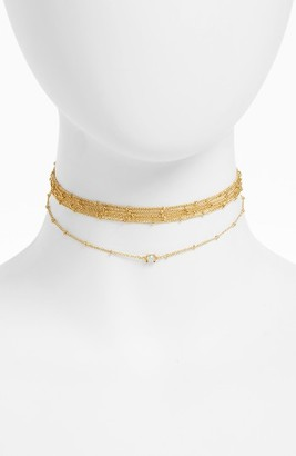 Women's Baublebar Dominique Multistrand Choker $34 thestylecure.com