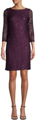 Eliza J Embellished Lace Dress