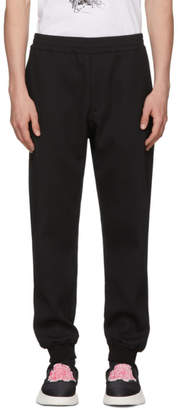 Alexander McQueen Black Sport Jogger Lounge Pants