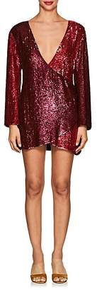 retrofête Women's Christine Sequined Wrap Dress