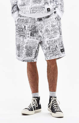 Converse x Suicidal Tendencies All Over Print Sweat Shorts