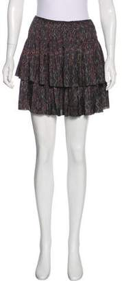 Ulla Johnson Printed Mini Skirt