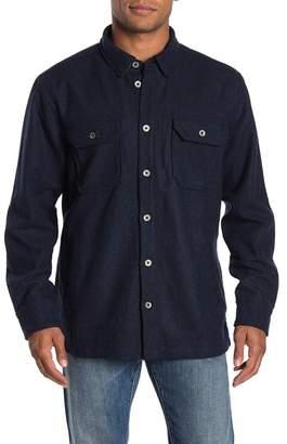 Jeremiah Creek Wool Long Sleeve Shirt Jacket