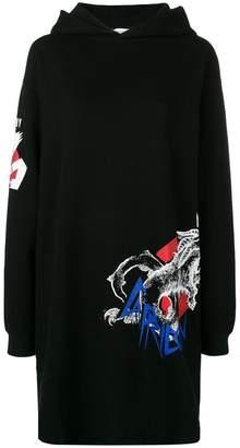Givenchy boxy hoodie dress