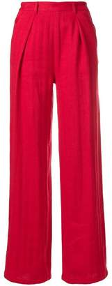 Masscob high-waisted trousers