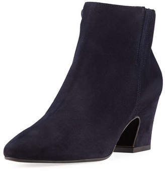 Aquatalia Orlina Suede Ankle Booties