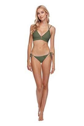 Body Glove Women's Smoothies Iris Solid Tie Side Bikini Bottom Swimsuit