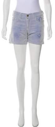 Roseanna Mid-Rise Mini Shorts