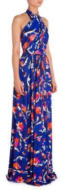 Emilio Pucci Halter Jersey Gown $3,300 thestylecure.com