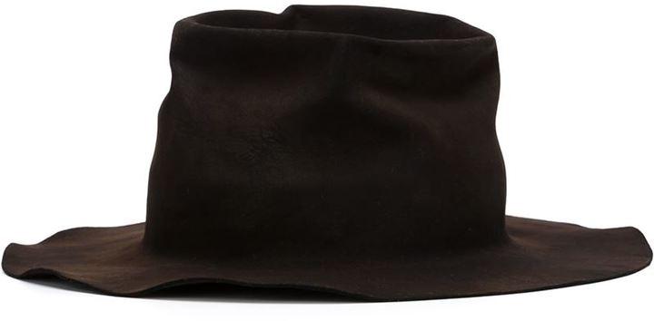 Horisaki Design & Handel burnt fur felt hat