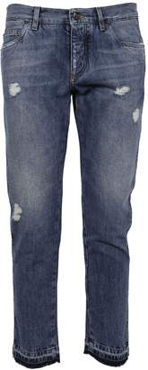 Dolce & Gabbana Classic Distressed Jeans