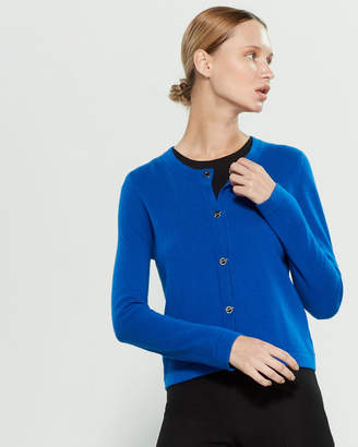 InCashmere In Cashmere Toggle Front Cashmere Long Sleeve Cardigan
