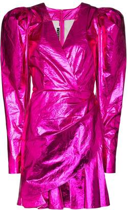 Rotate Number 24 mini dress