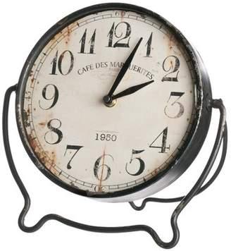 Trent Austin Design Antiqued Tabletop Clock