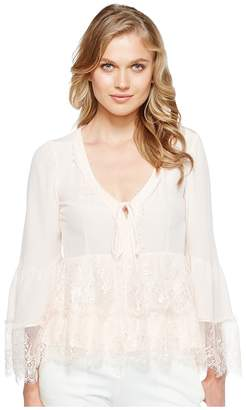 Nanette Lepore Virginia Lace Top Women's Clothing