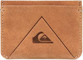 Quiksilver Leather Card Holder - Bone