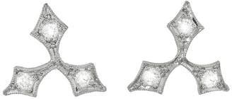Cathy Waterman Acorn Fringe Stud Earrings