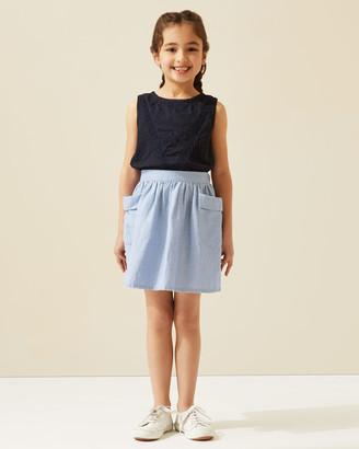 Jigsaw Linen Pocket Skirt
