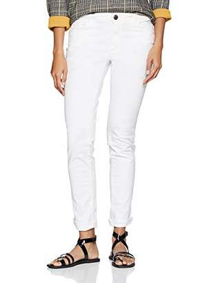 Trussardi Jeans Women's 260 Regular Basic - Garment Dyed Straight Jeans,(Size: 29)