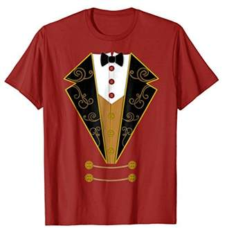 Circus Ringmaster Red Costume Showman Party Shirt Gift
