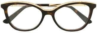 Etro tortoiseshell-effect cat-eye glasses