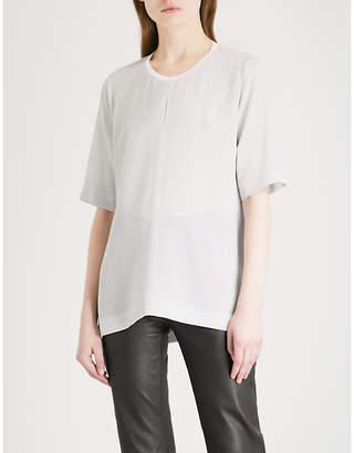 Joseph Miro stretch-crepe blouse