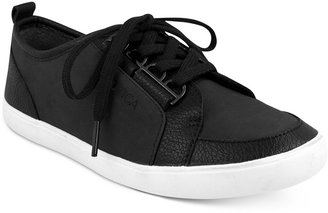 Nautica Women's Lubec Lace-Up Sneakers $45 thestylecure.com