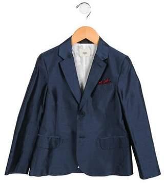 Fendi Boys' Silk Shantung Jacket w/ Tags