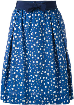 Woolrich floral print skirt $117.90 thestylecure.com