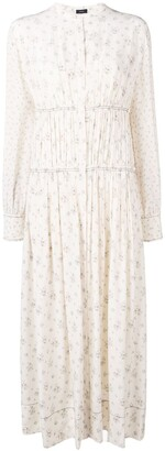 Joseph Tala Woolf patchwork dress