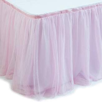 ONLINE Pink Tulle Table Skirt