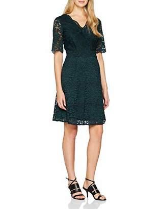 Esprit Women's 098eo1e017 Dress, (Bottle Green 385), (Size: 42)