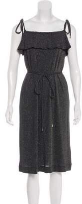 Vanessa Seward Metallic Sleeveless Dress w/ Tags