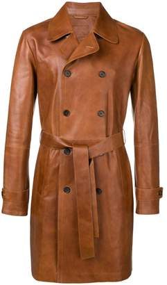 Desa 1972 belted double-breasted coat