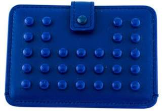 Tod's Studded Leather Compact Mirror