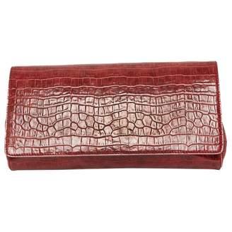 Stella McCartney Burgundy Leather Clutch bag