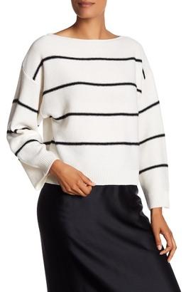 VINCE. Striped Cashmere Sweater $355 thestylecure.com