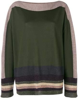 Antonio Marras stripe detail sweater
