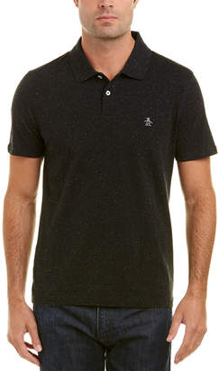 Original Penguin Speckled Polo Shirt