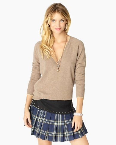 Eton Plaid Skirt
