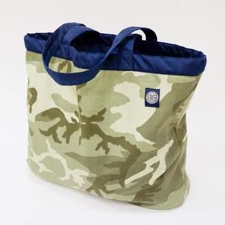 Blade + Blue Camouflage & Navy Reversible Jumbo Tote Bag